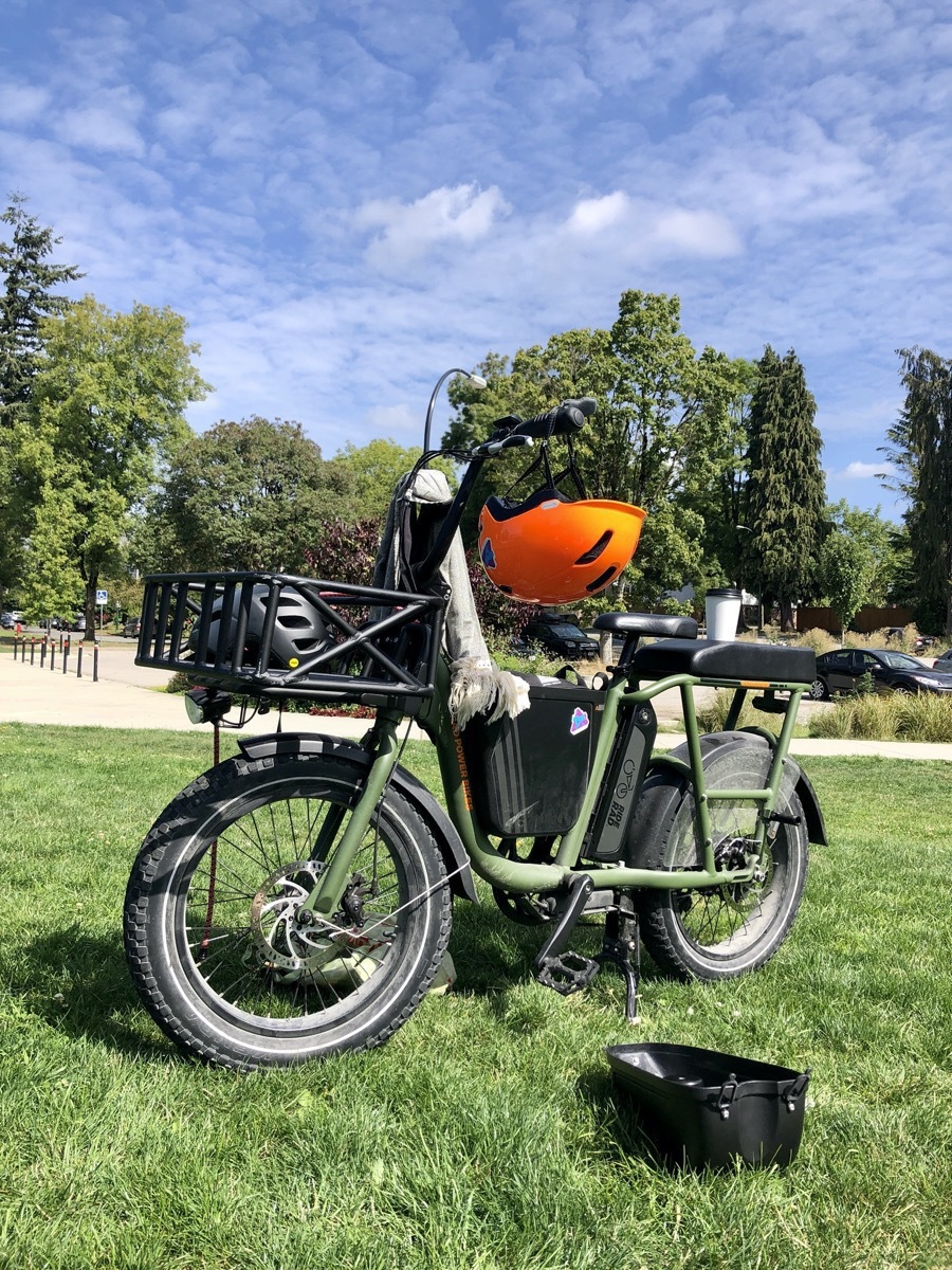 Rad Utility Bike at Riley Park