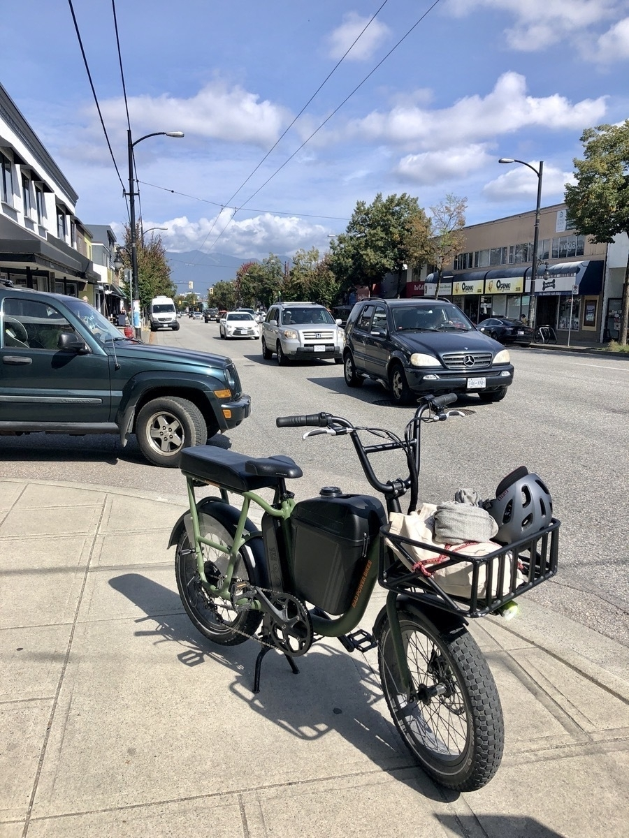 Rad Utility Bike on Main Street